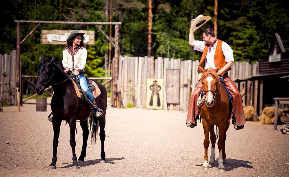 нас важно, ковбойки на ранчо фото номере