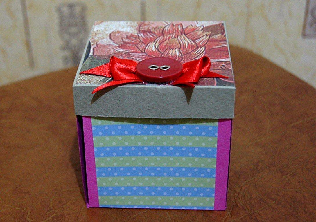 руками своими коробки подарочные в