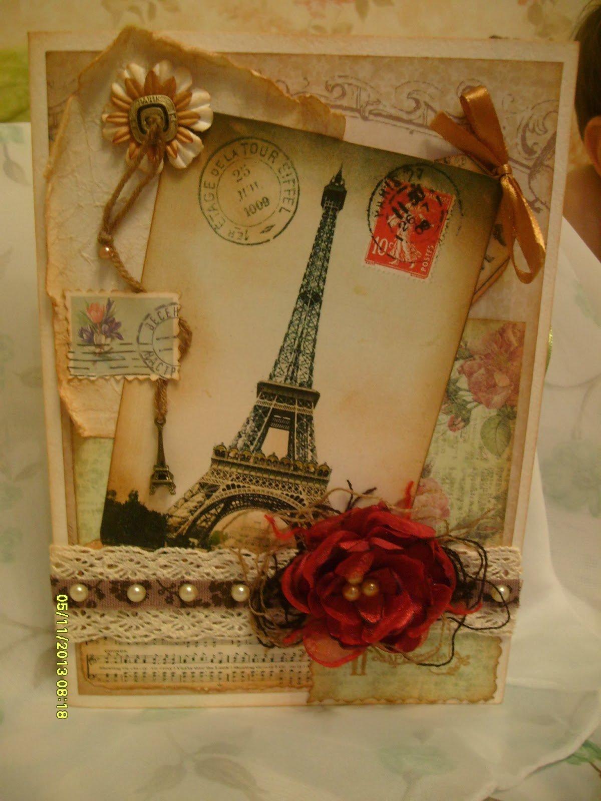 Создам винтажную открытку