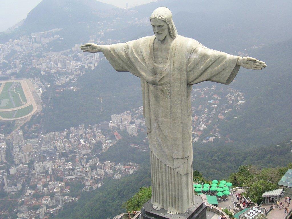 христа статуи в фото иисуса мире