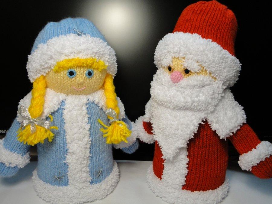 Открытка на новый год дед мороз и снегурочка своими руками, лев яшин сейвы
