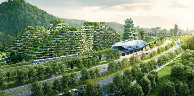 Эко-город в Китае