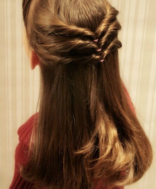 Длинные волосы у девочек прически фото