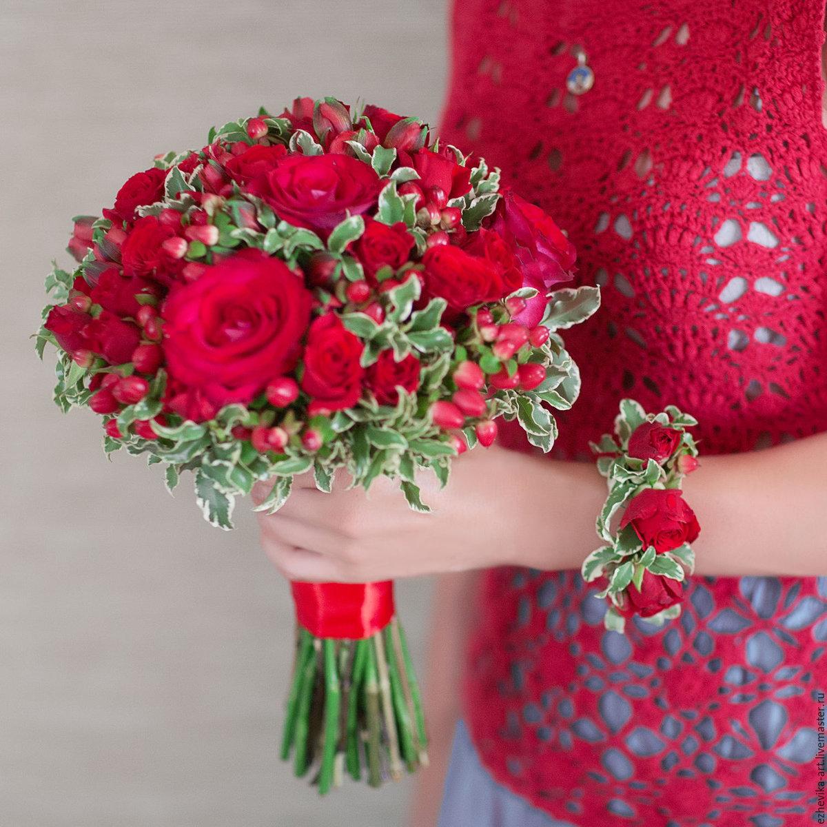 Центро киеве, красный цветы для свадебного букета названия