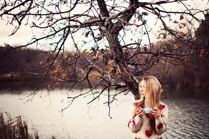 интересные фотосессии холодной весной женщин необходимо