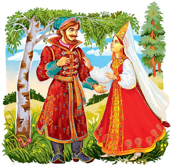 Рисунок свадьба ивана царевича и елены прекрасной, года картинки открытка