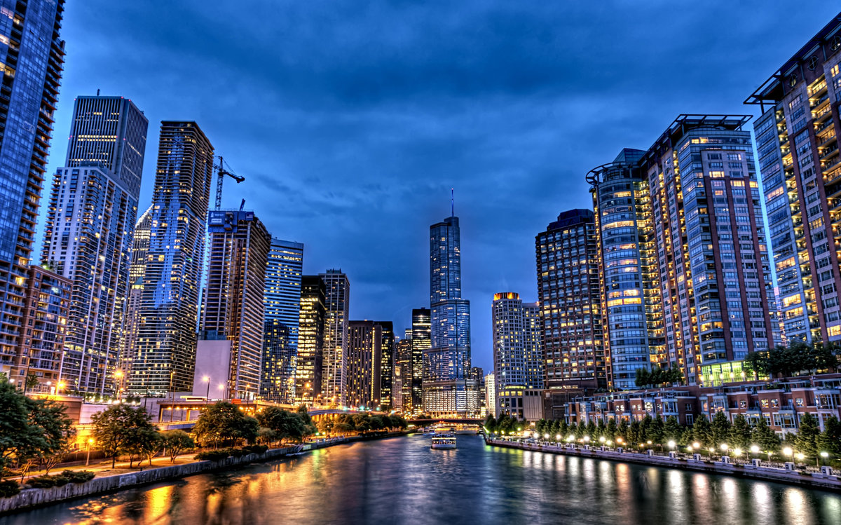 Chicago Blues, Illinois, United States Of America Widescreen Wallpaper |  Wide Wallpapers.