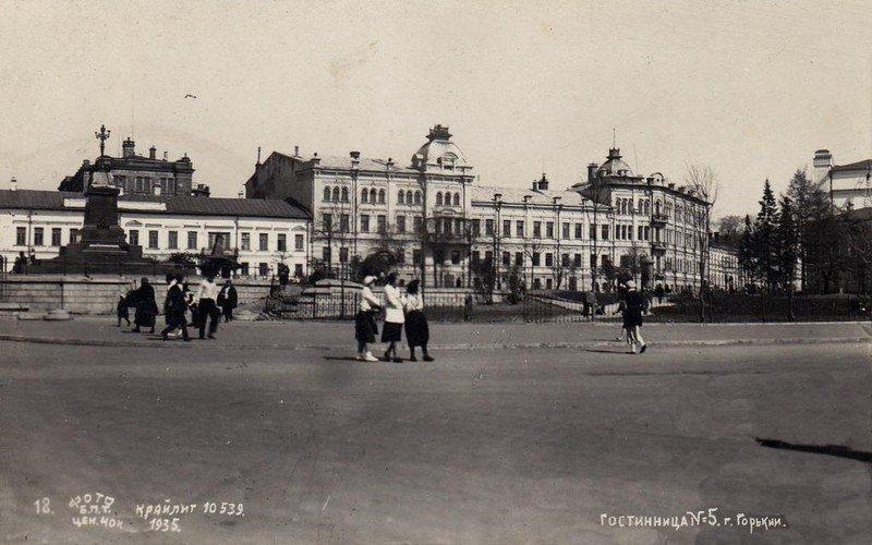 Советская (Минина и Пожарского) площадь, 1935 год