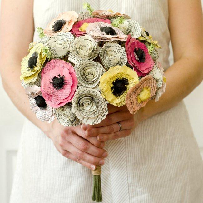 Креатив в составление букета из цветов, цветы москва