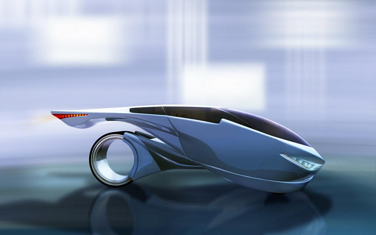 Чародейки, картинки на тему машины будущего
