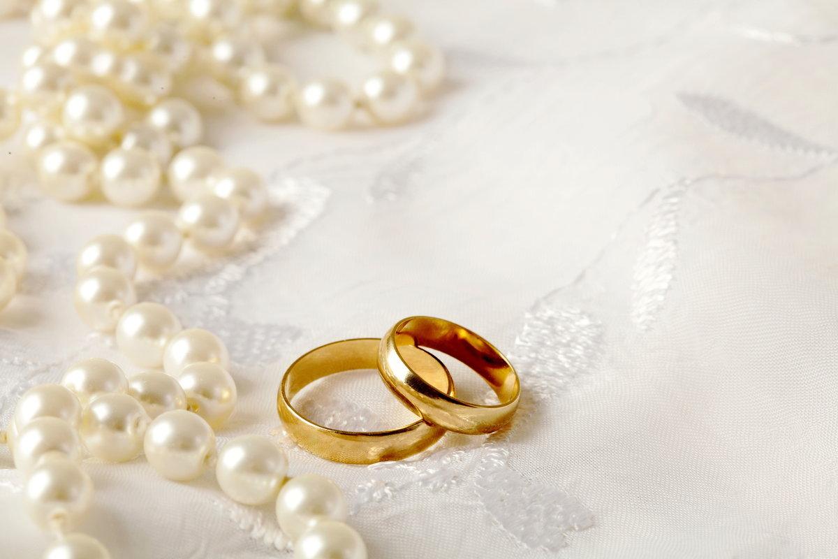 Красивые свадебные открытки с обручальными кольцами