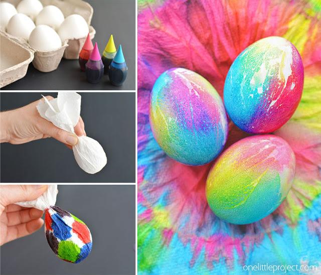 Как покрасить яйца идеи