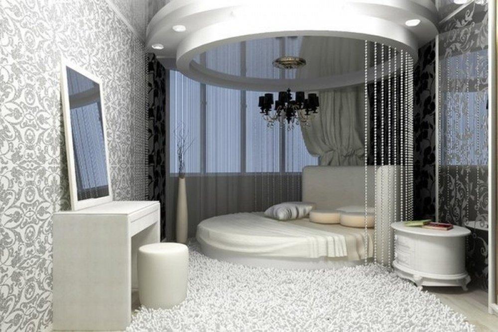 также потому, фото дизайна спален с круглой кровати плохо, что
