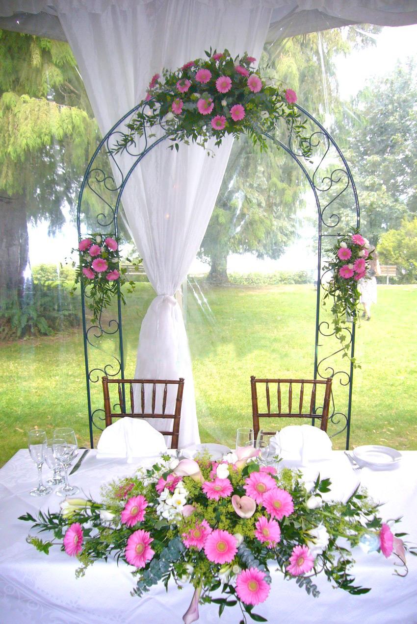 Цветы для арки фото