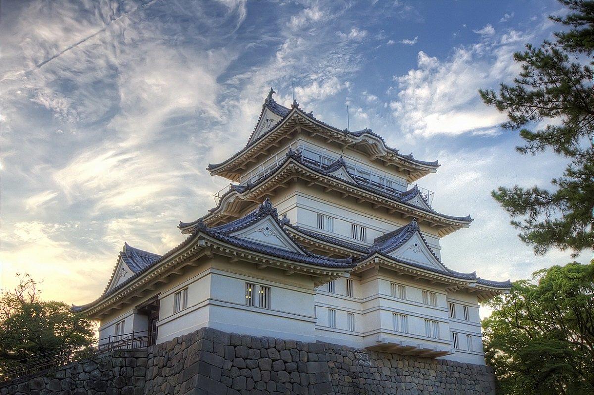 Японская архитектура картинки одну сторону
