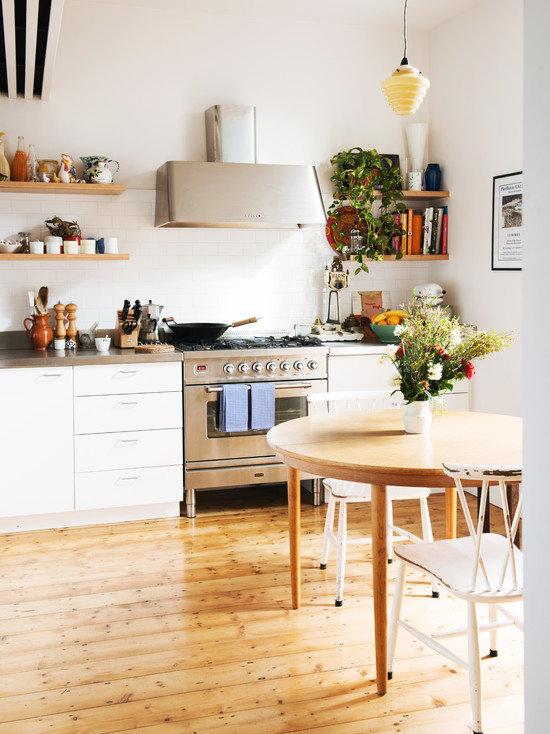 комнатные растения, как элемент декора кухни