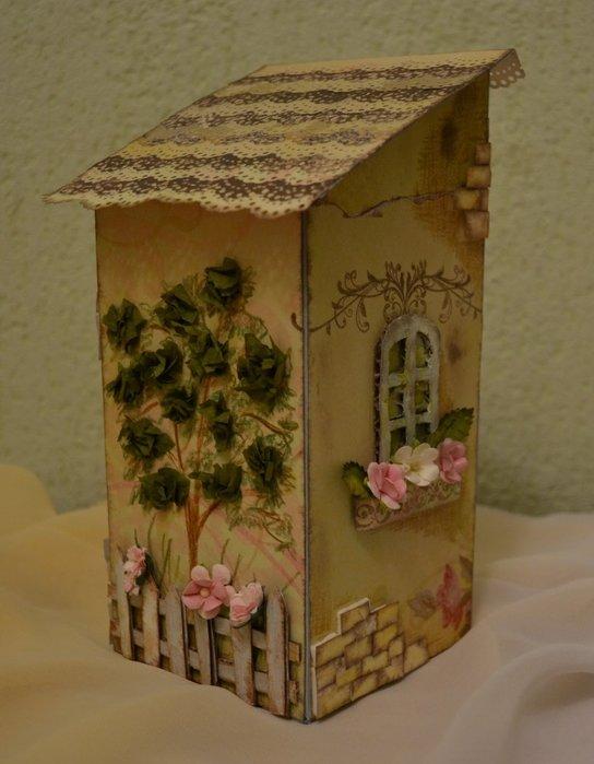 Чайный домик своими руками шаблоны