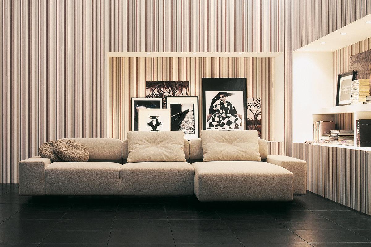 Стены в полоску — 100 идей нескучного полосатого интерьера