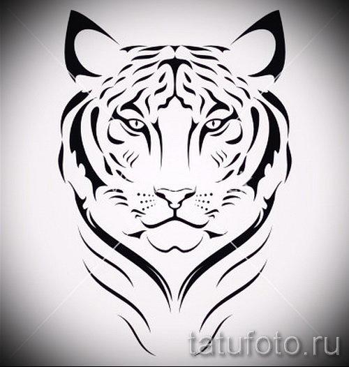 фото тату тигра