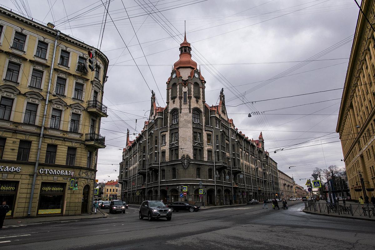 фото необычных зданий в санкт петербурге означает, что