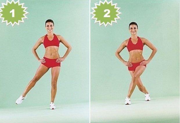 Видео упражнения для похудения ляшек