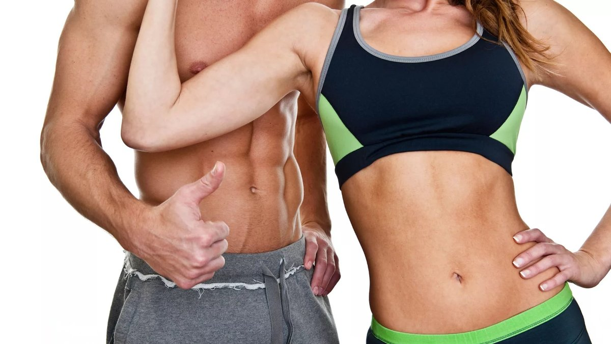 Картинки тела мужчин и женщин