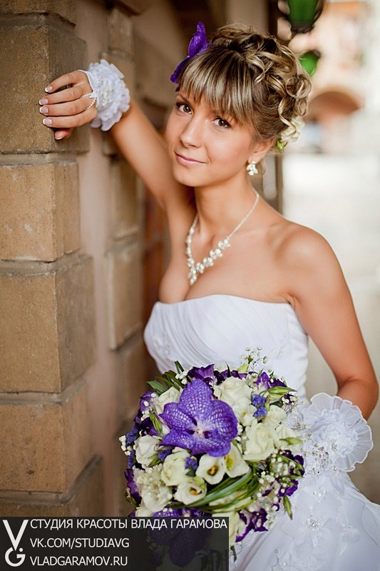 Свадебный стилист в Ставрополе. Свадебная прическа, макияж, мейк и маникюр невесты. Услуги и цены