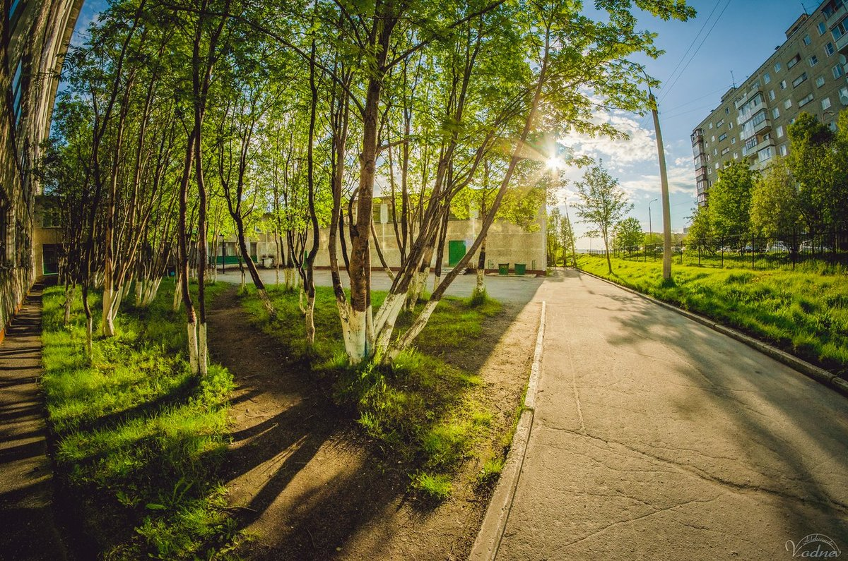 Мурманск лето картинки