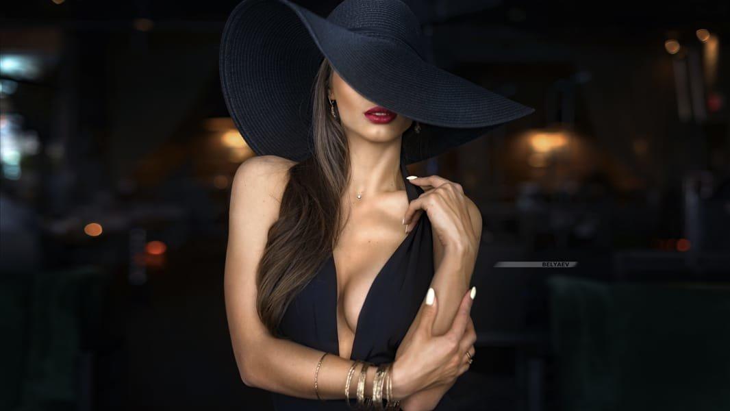 Шеф повара, картинки девушка в шляпе с закрытым лицом фото