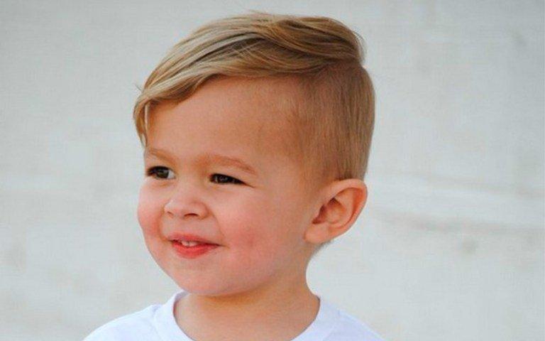 Детские прически для мальчиков до 2 лет фото
