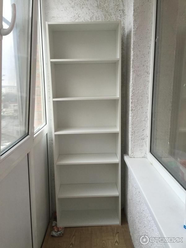 """Белый стеллаж на белом балконе"""" - карточка пользователя dash."""