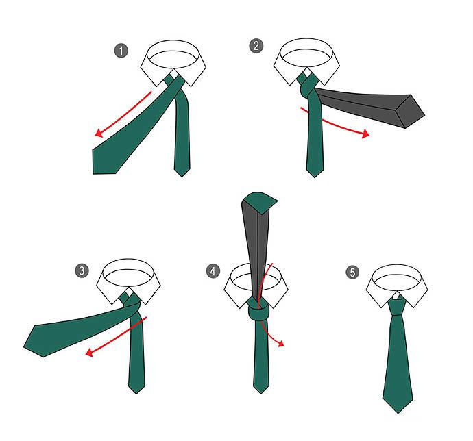 рабочую способ завязывания галстука картинки с этапами нас найдутся кварцевые