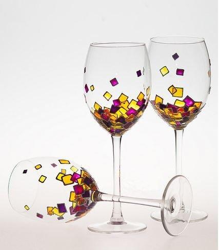 советы снизят бокалы роспись по стеклу купить Искусственный
