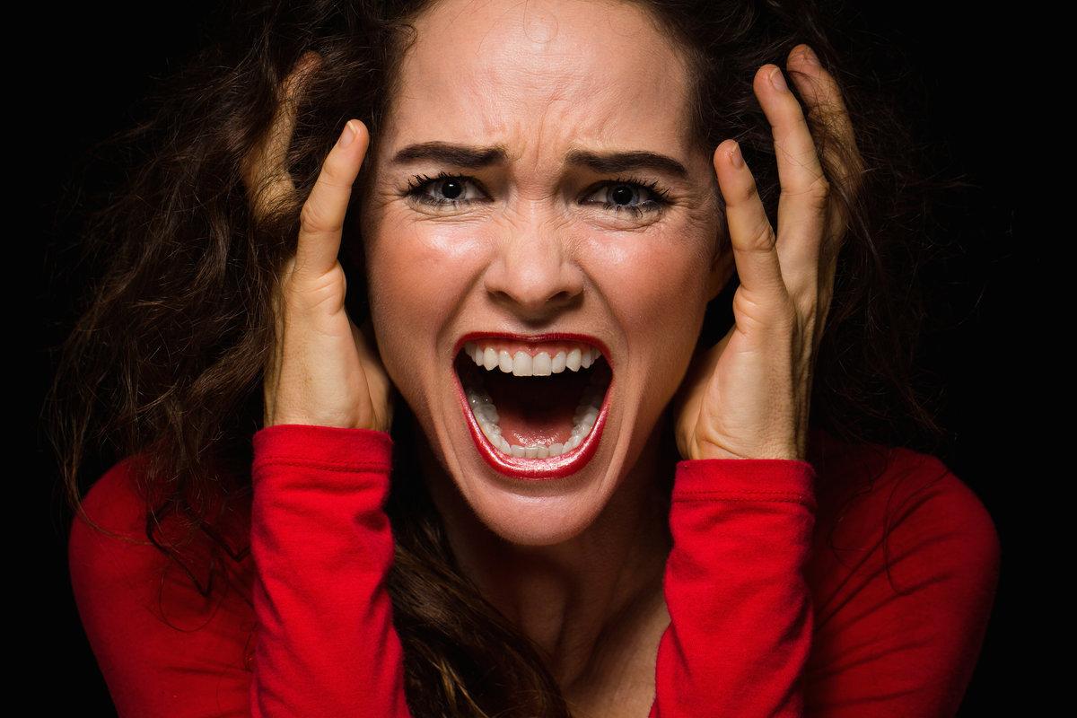 День пятницу, картинка ужаса на лице смешная