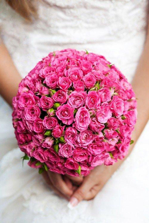 Красивые свадебные букеты для невесты (40 фото)