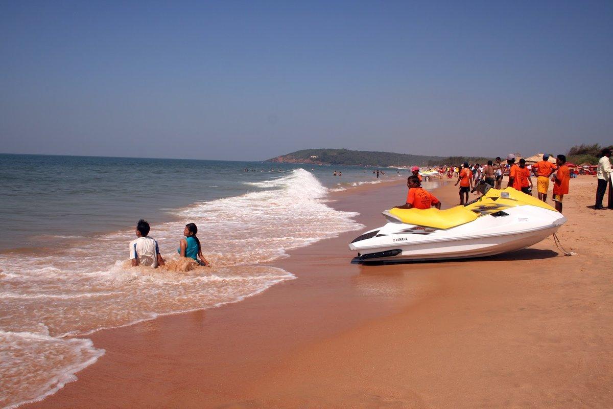результате столкновения пляж калангут гоа индия фото счет