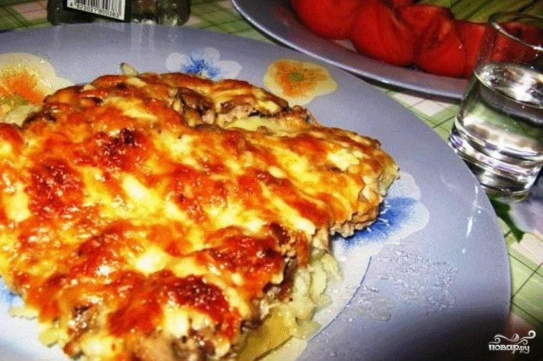 Курица по-французски с картофелем 3