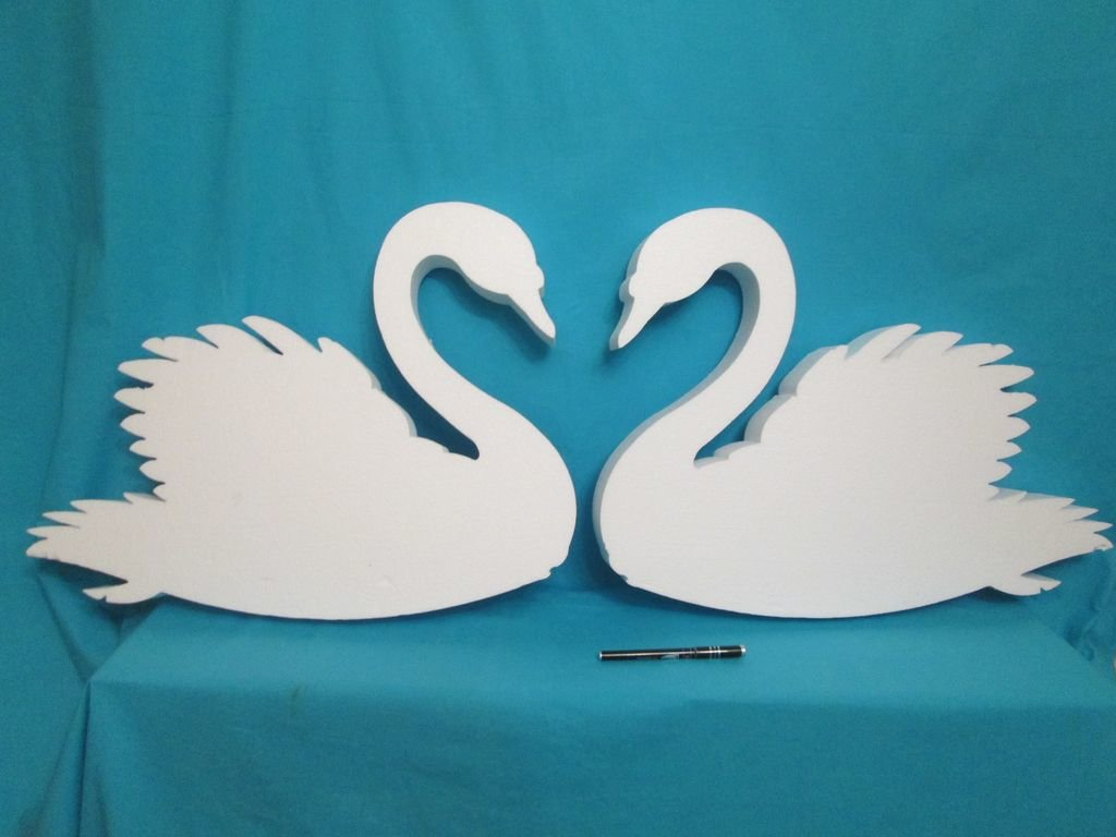 Открытки, картинка с лебедем своими руками