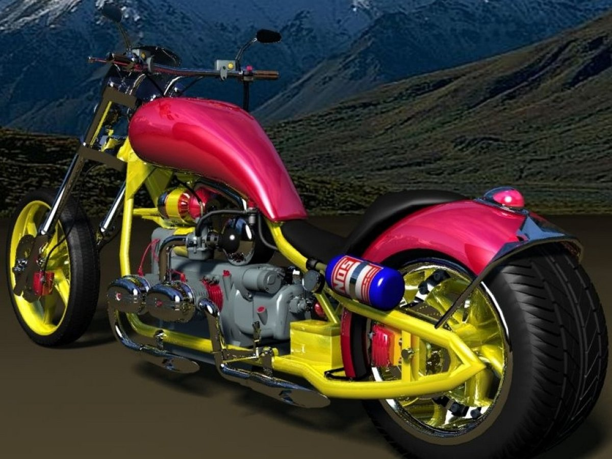 Картинки тюнинга русских мотоциклов