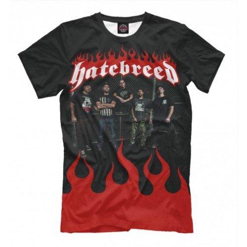 Мужская футболка 3D Hatebreed