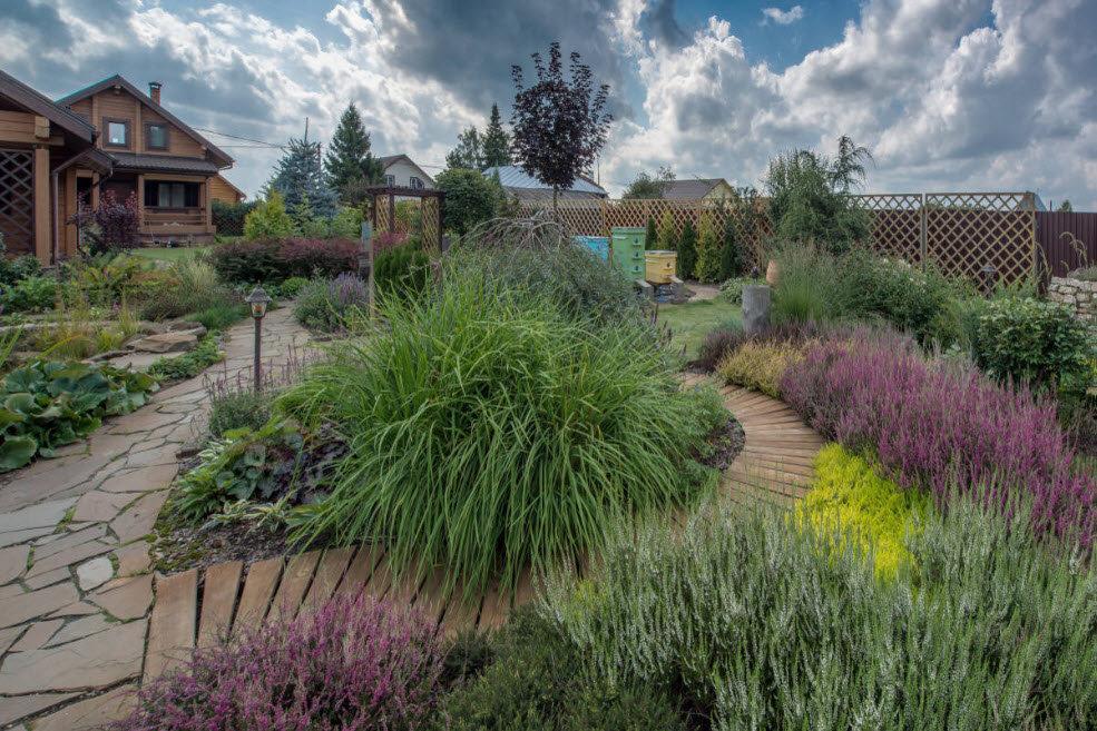 Ландшафтный дизайн загородного дома своими руками фото фото 154