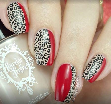 Сложный дизайн на ногтях фото