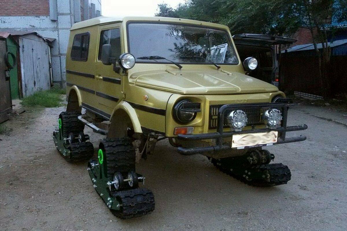 Гусеничные траки для авто