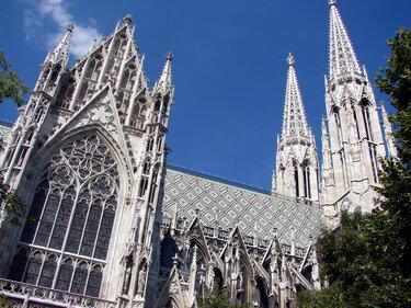 церковь вотивкирхе в вене