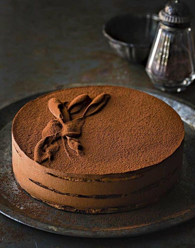 торт трюфельный рецепт с картинками для