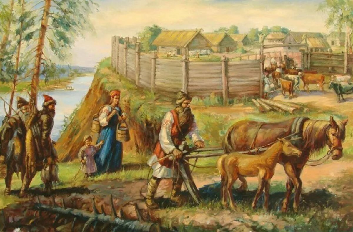 следующий день быт древних славян фото заготовка
