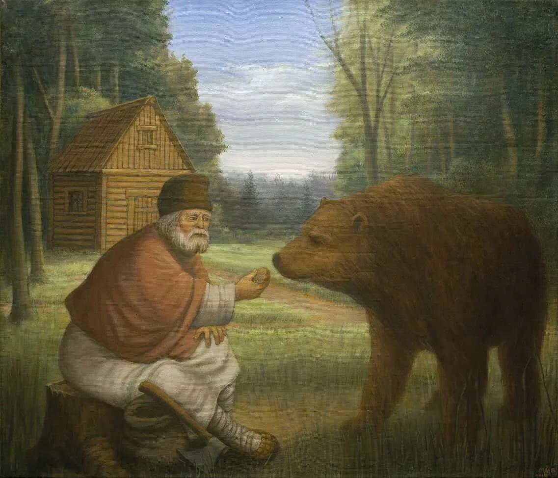 Картинки святой медведь