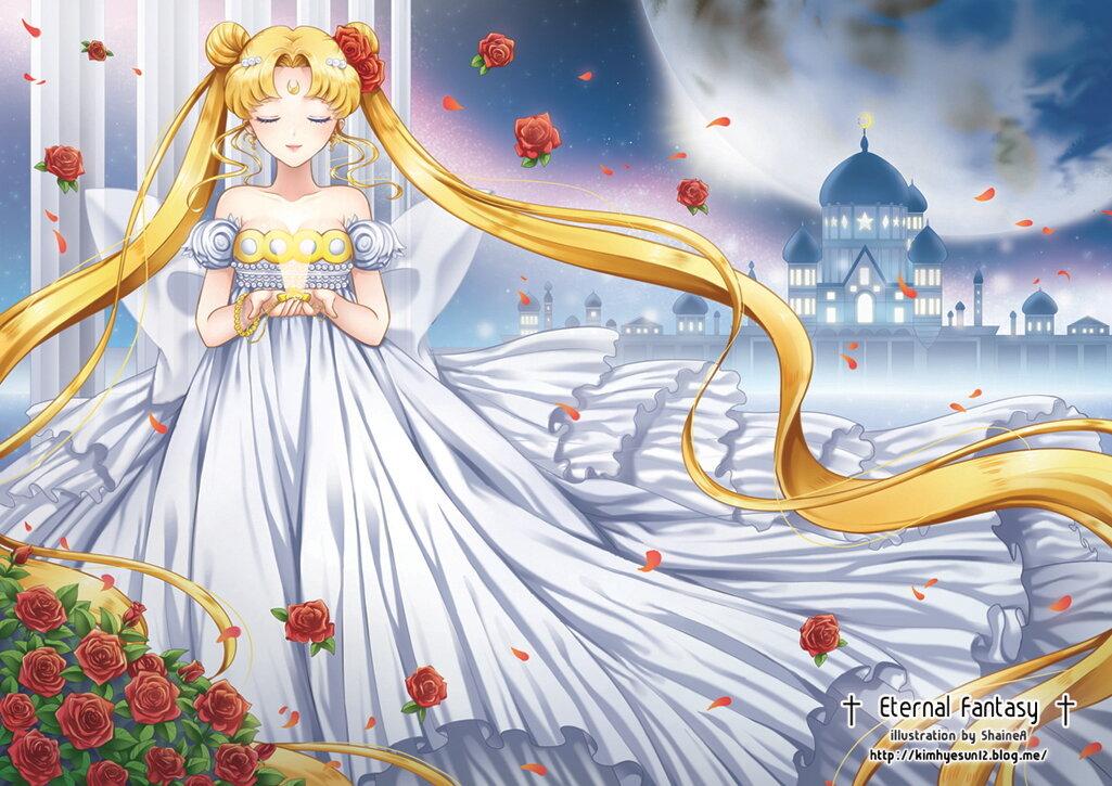 Сейлор мун картинки принцессы серенити