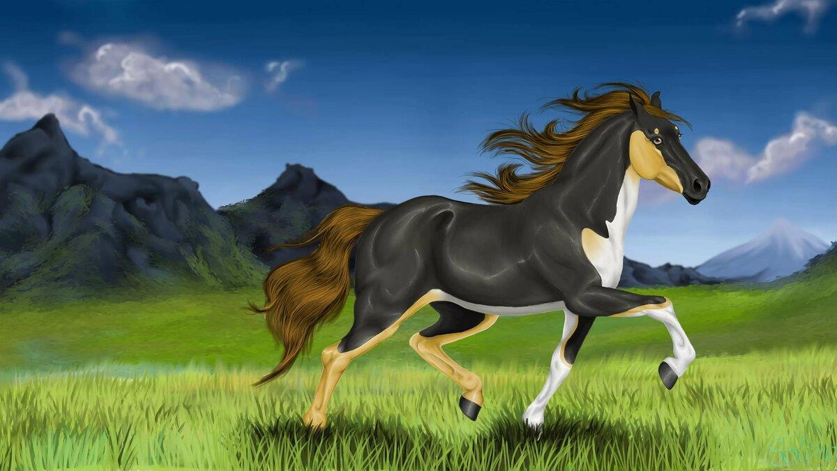 внимание, иногородние кони рисунки фото расследования привлечены