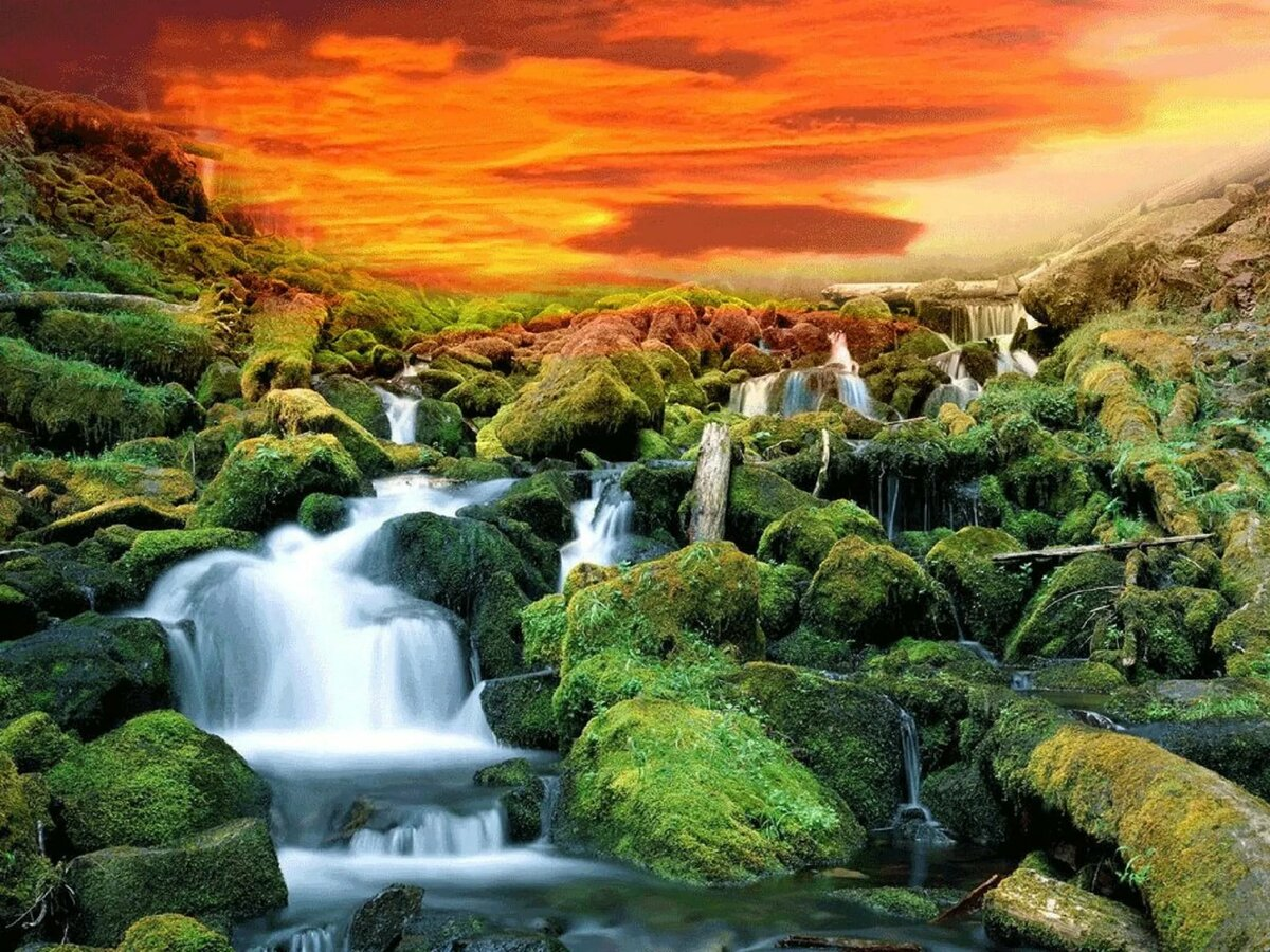 картинки красивые водопады двигающихся объектов инфраструктуры